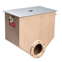 Механический регулятор уровня воды из бронзы, глубина монтажа 140 мм с крышкой