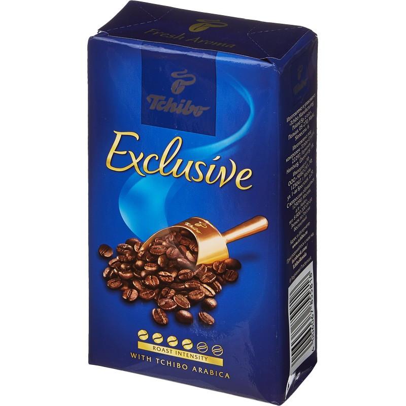 Кофе молотый Tchibo Exclusive 250гр