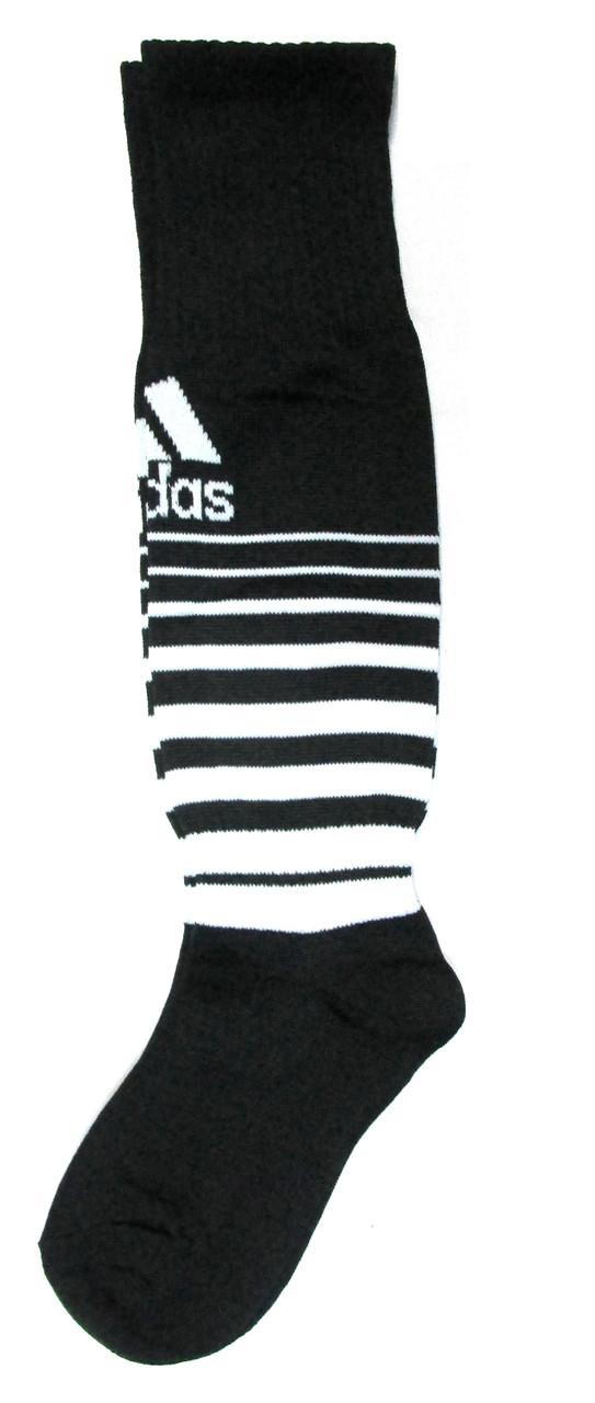 Гетры Adidas детские черно-белые