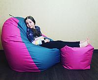 Кресло груша Гигант + пуф в подарок