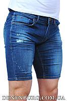 Шорты джинс мужские FRANCO BENUSSI 16-639 синие, фото 1