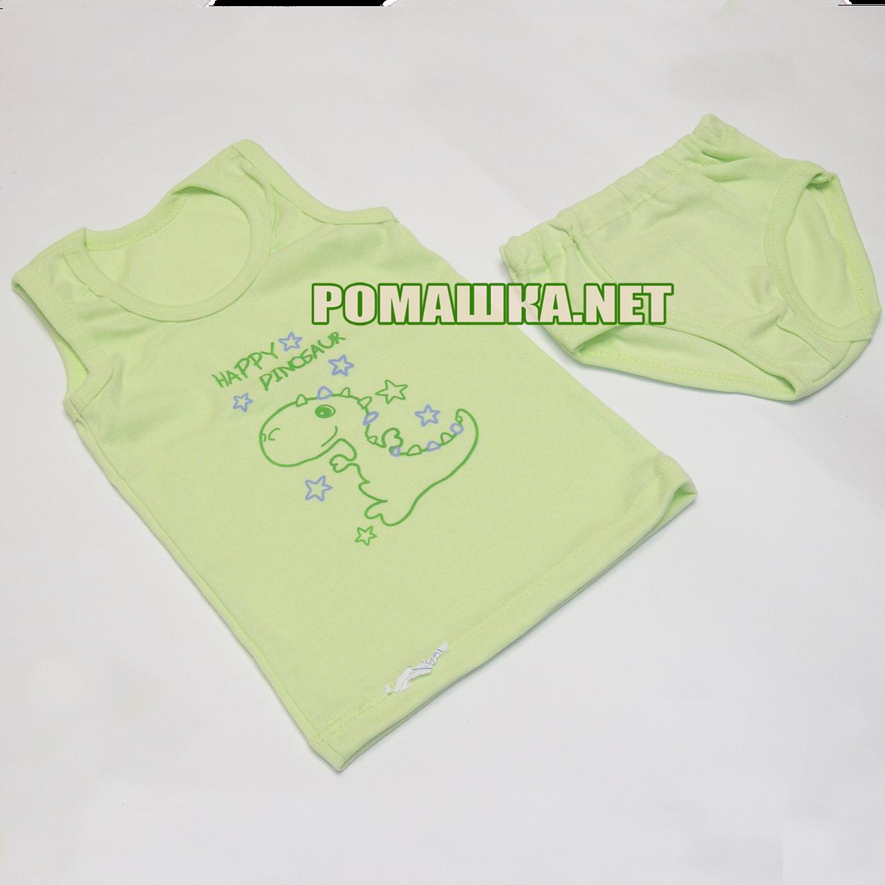 991428ac05574 Детский комплект белья р. 92-98 для мальчика трусики и маечка ткань КУЛИР  100