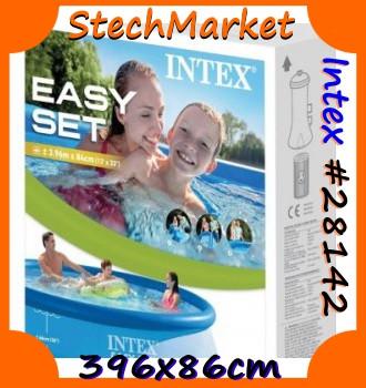 Семейный надувной бассейн Intex 28142 (396х84 см)