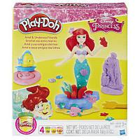 Набор Play-Doh русалочка принцесса Ариэль и ее друзья с аксессуарами / Ariel Playset