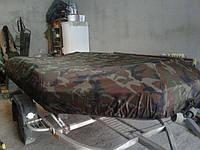 Тент на резиновую лодку бриг. Тент для надувной лодки.