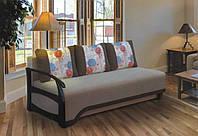 """Удобный прямой диван «Престиж» с механизмом трансформации """"еврокнижка"""" (выкатной)"""