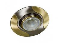 Спот Lemanso AL8174 титан - золото R50/020