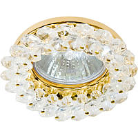 Спот Lemanso CD4141 прозрачный золото/ST141