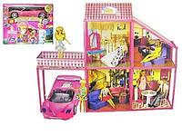 """Кукольный домик 6981 """"My Lovely Villa"""" с машиной 4 комнаты"""