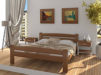 Кровать двуспальная Каспер из массива бука