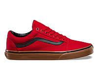 """Кеды Vans Old Skool """"Red/Gum/Black"""""""