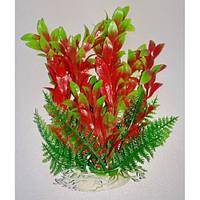 Пластиковое растение для аквариума Lang №032171