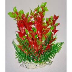 Пластиковое растение для аквариума 14-17 см Lang №032171