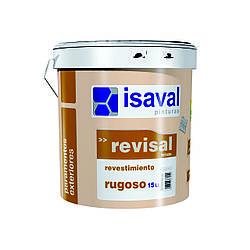 Фасадная структурная краска-штукатурка Ревисаль Ругоссо 25кг