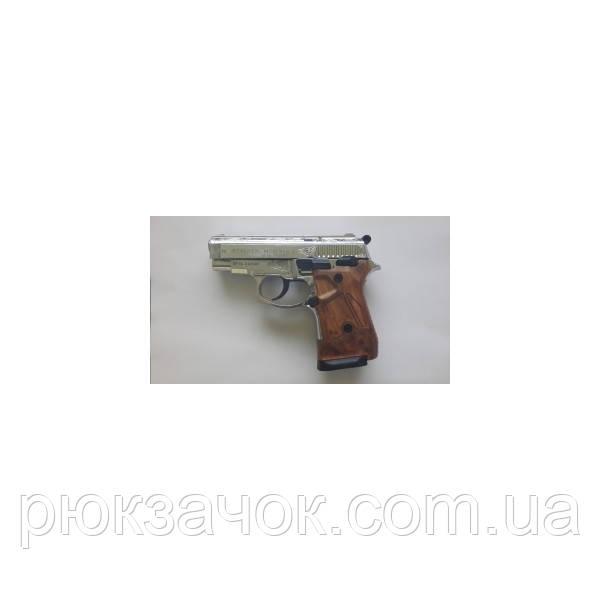 Стартовый (сигнально-шумовой) пистолет Stalker 914s (Хром+Гравировка)