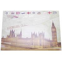 Папка-конверт на липучке P1981 Лондон А4