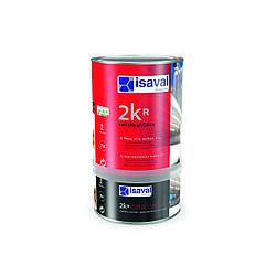 Полиуретановый матовый, полуматовый, глянцевый лак для бетонного пола 2Кр ISAVAL 4л