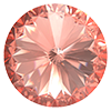 Риволи Preciosa (Чехия) 14 мм Crystal Apricot