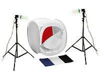 Набор для предметной съемки 2x600W / палатка 120 см