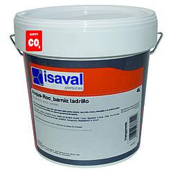 Лак для камня акриловый на водной основе Аква-Рок 4л=40м2/слой ISAVAL