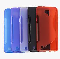 Силиконовый чехол Duotone для LG X Cam (7 цветов)
