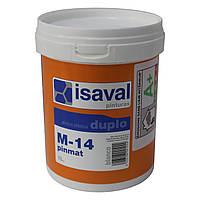 М-14 Пинмат - глубокоматовая краска для потолков ISAVAL 1л до 8м2