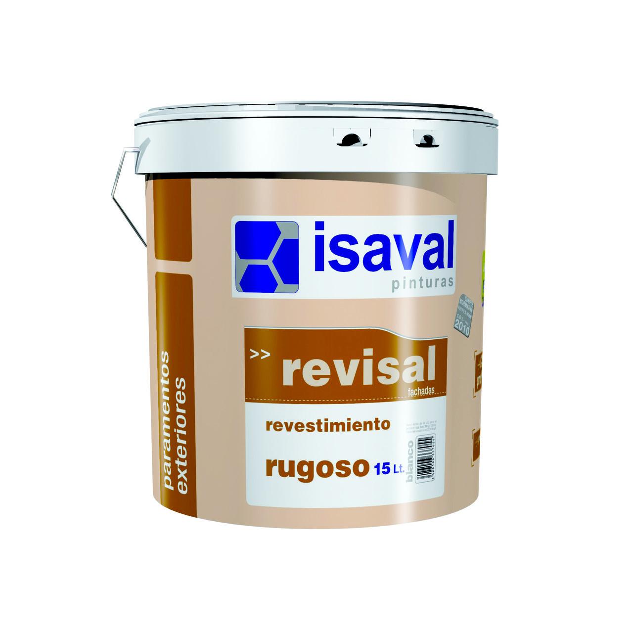 Структурна фасадна фарба-штукатурка Ревисаль Ругоссо 5кг
