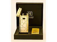 Зажигалка USB Honest цвет золота !