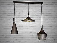 Тройной светильник в стиле лофт 7756-3S
