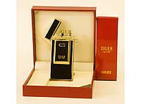 Зажигалка USB Honest цвет черный с золотом !