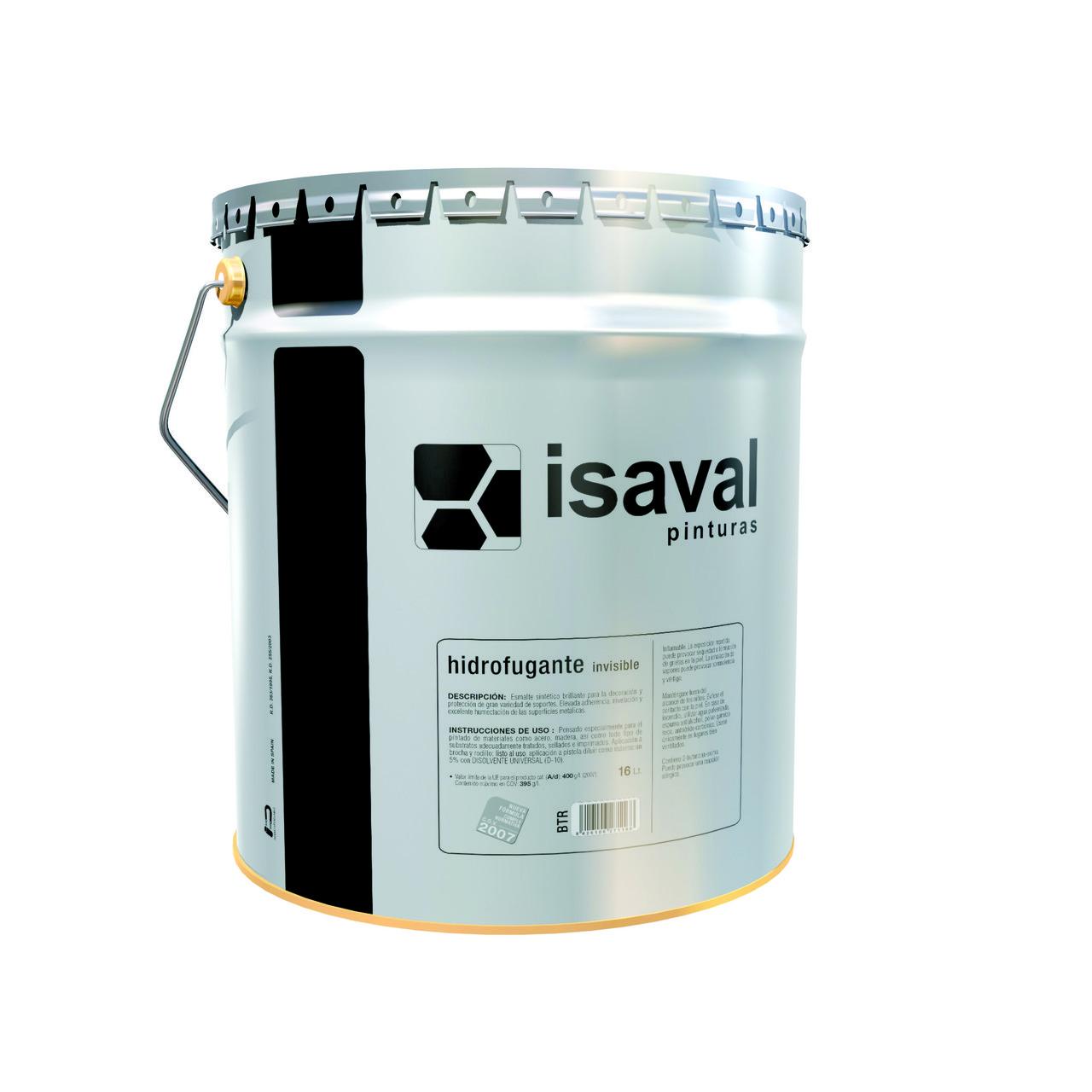 Фасадна водовідштовхувальна просочення ISAVAL Гидрофуганте 0,75 л невидима, на розчиннику