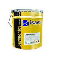 Краска полиуретановая ISAVAL Дуэполь 4 л серый - для промышленных бетонных полов, паркингов и гаражей