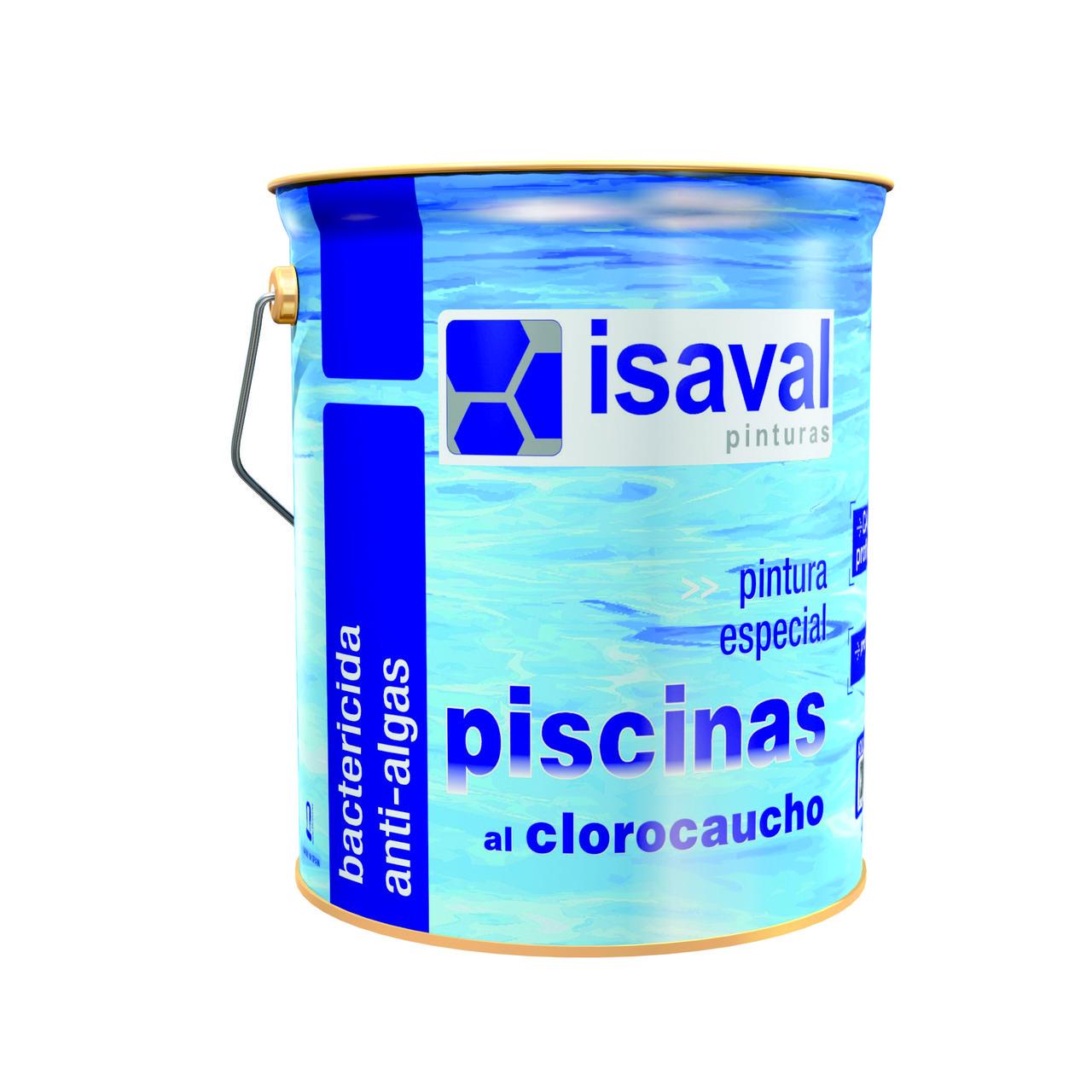 Фарба ISAVAL Хлоркаучукова для басейнів 4 л білий - для басейнів, ставків і резервуарів
