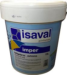 Гидроизолирующая резиновая краска для крыш, стен и полов Антиготерас 15л ISAVAL