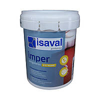 Гидроизолирующая резиновая краска для крыш, стен и полов Антиготерас 0,75л ISAVAL