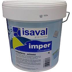 Гидроизолирующая резиновая краска для крыш, стен и полов Антиготерас 4л ISAVAL
