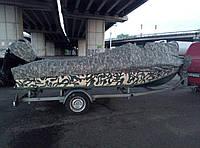 Тент на лодку транспортировочный. Cordura 1000D (США)