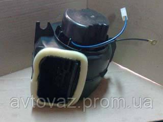 Мотор печки ВАЗ 2108, ВАЗ 2109, ВАЗ 21099 с кожухом Калуга