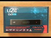 Спутниковый HD тюнер с подержкой T2-MI и MultiStream U2C DENYS H.265 HD+ IPTV / OTT/ STALKER / WEB TV