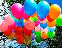 """Гелиевые шарики пастель ассорти 12"""" (30 см)"""