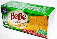 Печенье натуральное с витамином Е, В1 Bebe cerealne 130 г.