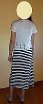 Платье с белой накидкой Париж, фото 3