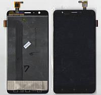 Дисплей + сенсор Oukitel U15 Pro Черный