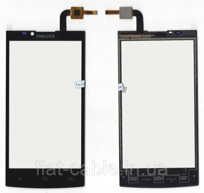 Сенсор Philips S398 Dual Sim Black