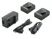 2x Аккумулятор + зарядное устройство для камер GoPro HERO3 / HERO 3+