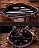 Сумка мужская кожаная для документов Jeep светло-коричневая, фото 3