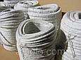 Термоизоляционный шнур «Керамический шнур» 20х20 мм. Уплотнитель дверцы котла (+1100°С), фото 7