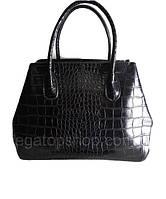 Брендовая женская сумочка черная большая