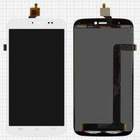 Дисплей для мобильных телефонов BLU L110 Life View, L110a Life View, белый, с сенсорным экраном
