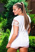 Летняя женская туника хлопок.Натуральная ткань Размер:M(48-50),L(50-52),XL(52-54) , фото 1
